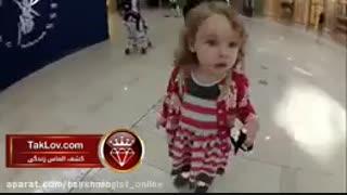 شنیدن صدای اذان توسط کودک خارجی