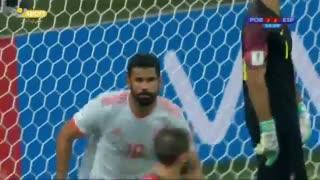 دبل جواب دبل! گل دوم اسپانیا به پرتغال