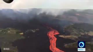 کوه آتشفشانی که آرام نمیگیرد/ تبدیل شدن هاوایی به شهری از جنس مواد مذاب