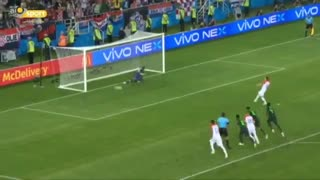 روز سوم ، روز پنالتی ها ؛ گل دوم کرواسی به نیجریه