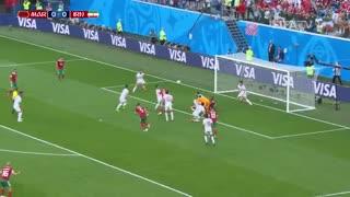 خلاصه بازی  ایران - مراکش  در جام جهانی 2018 روسیه