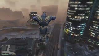 Mod تنوس در بازی GTA 5