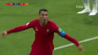 خلاصه بازی پرتغال- اسپانیا در جام جهانی 2018 روسیه