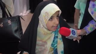 گزارش ولادت امام امام حسن ع از مبینا نواصر