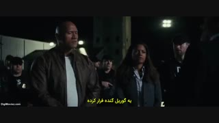 """دانلود فیلم """" خشم """"  2018 Rampage با زیرنویس چسبیده فارسی"""
