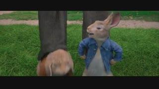 "انیمیشن پیتر خرگوشه""Peter Rabbit 2018"" دوبله فارسی"