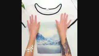 ساخت لباس های جدید با تی شرت های قدیمی