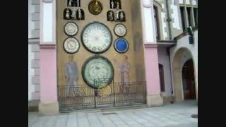 ساعت نجومی در شهر اولموک