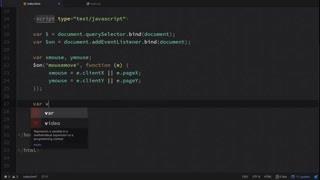 حرکت به دنبال ماوس - برنامه نویسی CSS