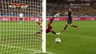 گل توماس مولر به استرالیا در جام جهانی 2010
