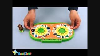 لسباب بازی آموزشی فکری میمون باهوش