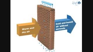 سرمایش تبخیری ابتکاری کمپانی ژئوکلیما