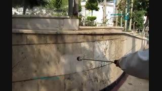 واترجت صنعتی - کارواش دستی برای شستشوی دیوار و سطوح مختلف