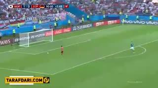لحظه ی گل کره جنوبی به آلمان