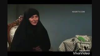همسر شهید مدافع حرم حمید سیاه کالی مرادی-دوستت دارم رمزش یادت باشه بود