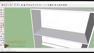 آموزش طراحی کابینت آشپزخانه با اسکچاپ 2018- قسمت 14