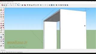 آموزش طراحی کابینت آشپزخانه با اسکچاپ 2018- قسمت 15