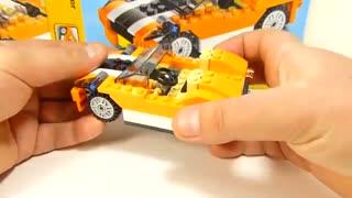Bricks toys Architect 145 pcs 3 in 1 toys لگو ماشین مسابقه ای، اسپورت و ماشین سنگین