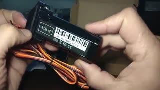 تست و بررسی ردیاب خودرو وموتور سیکلتgps tracker - گیلار