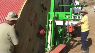اجرای کابل کراسلینک ۲۰ کیلو ولت به صورت زمینی