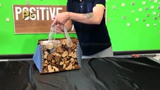 ساخت کیف دستی زنانه شیک با چوب و رزین