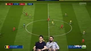 بازی برزیل بلژیک | جام جهانی 2018 روسیه