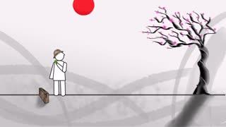 انیمیشن تبلیغاتی کیت کت ژاپن