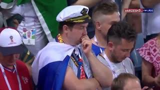 حاشیه های جام جهانی روسیه |  صحنه های دیده نشده جام جهانی 2018 روسیه