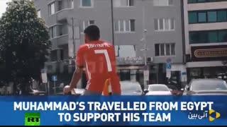 سفر به جام جهانی روسیه با وسایل نقلیه غیر متعارف - آنی بین