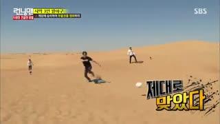 برنامه Running Man 2016 قسمت 290 با حضور Jung Il Woo و Lee Da hae - [ با زیرنویس فارسی ]