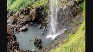 آبشار فوقالعاده پانْدیوْکادا (Pandavkada Falls)