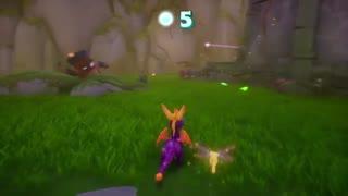 12 دقیقه از گیمپلی بازی Spyro Reignited Trilogy