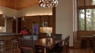 استفاده از چوب ترمو (ترمووود، ترموود) یا چوب نما در طراحی داخلی و نمای خانه