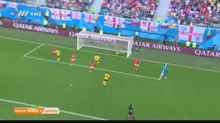 خلاصه جام جهانی: بلژیک ۲-۰ انگلیس