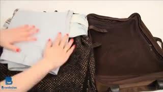 12 ترفند برای چمدان بستن