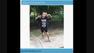 رقص هیپ هاپ دختر بچه +ت