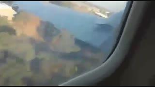 فیلم سقوط هواپیما