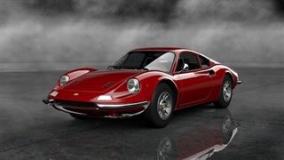 نمای ظاهری خودرو فراری دینو برلینتا GT