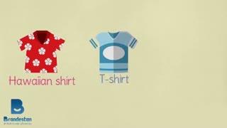 اسم لباس های تابستانی به زبان انگلیسی
