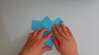 اموزش اوریگامی ساخت موشک