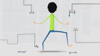 انیمیشن تبلیغاتی شرکت آب و فاضلاب