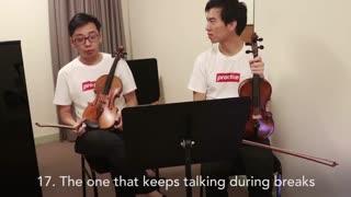 انواع مختلف نوازنده های ارکستر (طنز)