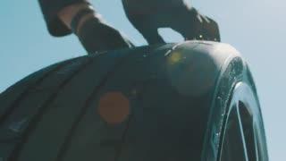 تست سرعت Lamborghini Aventador SVJ