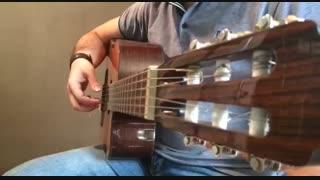 آموزش گیتار: جلسه ۱۳ قسمت ۲، آموزش آرپژ ۴/۴ قسمت ۲