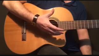 آموزش گیتار: جلسه ۱۴ قسمت ۱، آموزش ریتم ۲/۴ احساسی