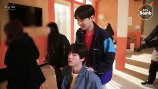 بنگتن بمب جدید با عنوان Jin & Jhope Massage Tim? منتشر شد