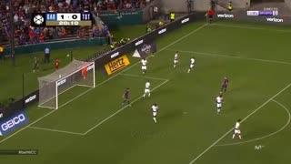 عملکرد آرتور ملو در اولین بازی برای بارسلونا مقابل تاتنهام