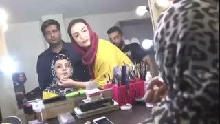 ویدیویی از تست گریم یکتا ناصر در فیلم رحمان ۱۴۰۰