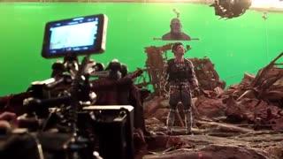 پشت صحنه  جدید فیلم سینمایی Avengers: Infinity War