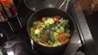 آموزش درست کردن سوپ مخصوص سرماخوردگی